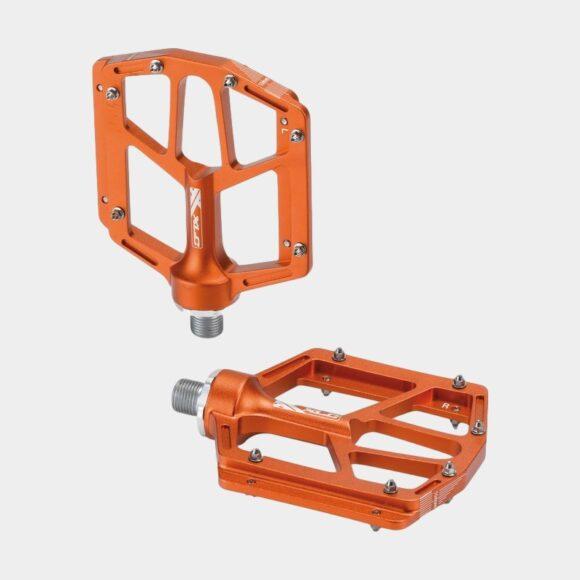 Pedaler XLC PD-M14, 1 par, Plattformspedaler, orange