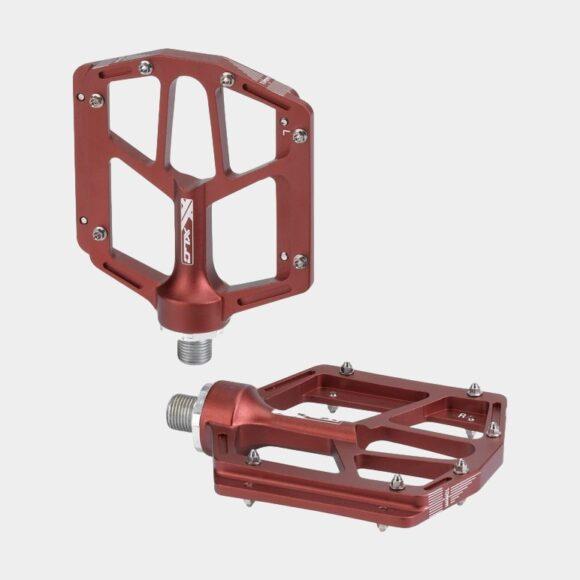 Pedaler XLC PD-M14, 1 par, Plattformspedaler, röd