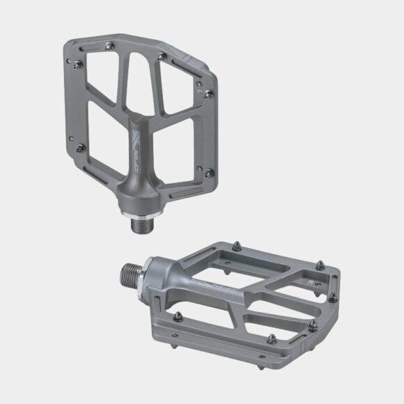 Pedaler XLC PD-M14, 1 par, Plattformspedaler, titan
