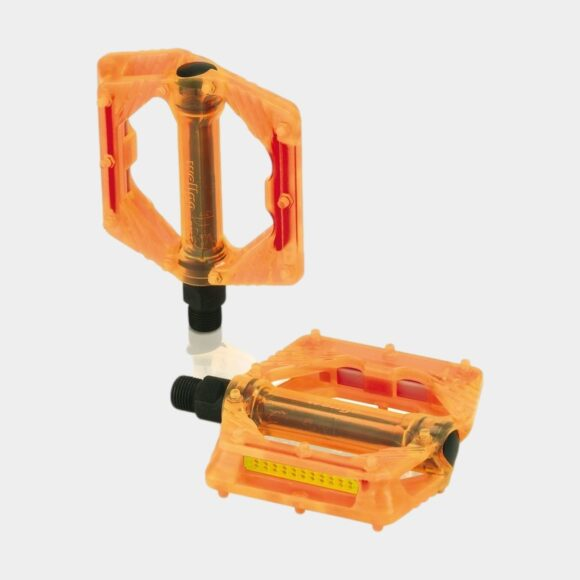 Pedaler XLC PD-M16, 1 par, Plattformspedaler, orange