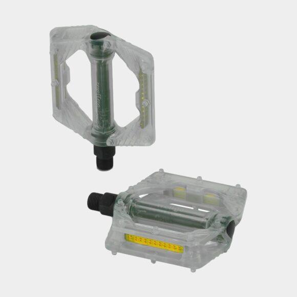 Pedaler XLC PD-M16, 1 par, Plattformspedal, transparent