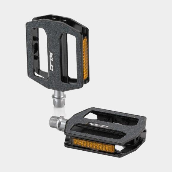 Pedaler XLC PD-M21, 1 par, Standardpedaler, svart