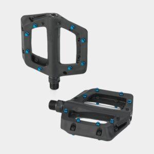 Pedaler XLC PD-M23, 1 par, Plattformspedaler, svart/blå