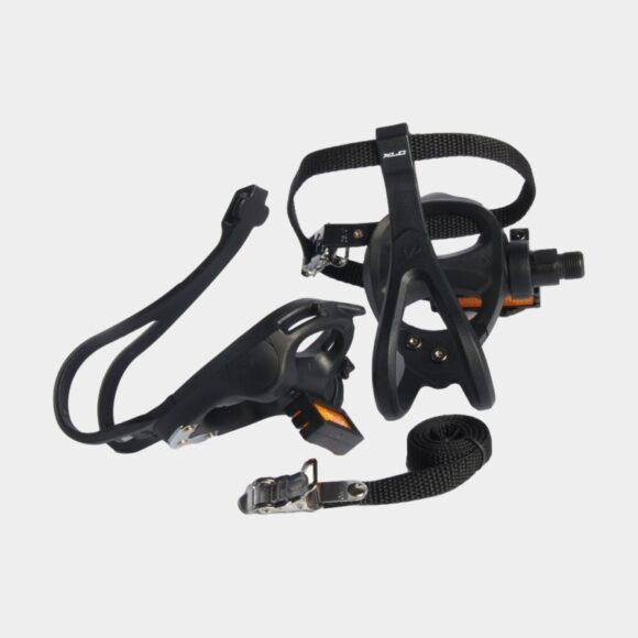 Pedaler XLC PD-R01, 1 par, Korgpedaler, svart