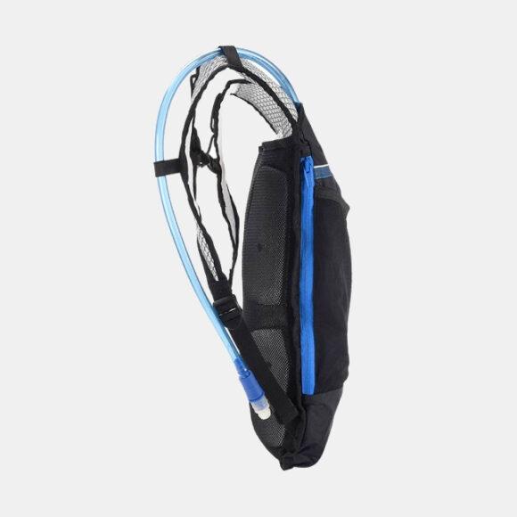 Vätskeryggsäck Roswheel Sweatpak Black/Blue 5 liter + vätskebehållare (2 liter)