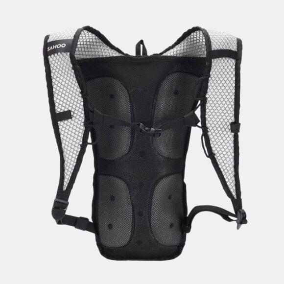 Vätskeryggsäck Roswheel Sweatpak Black/Yellow 5 liter + vätskebehållare (2 liter)