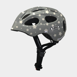 Cykelhjälm ABUS Youn-I Grey Star, Medium (52 - 57 cm)