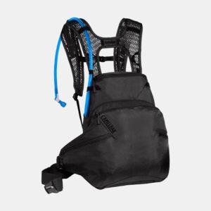 Cykelryggsäck Camelbak Skyline LR Black, 10 liter + vätskebehållare (3 liter)
