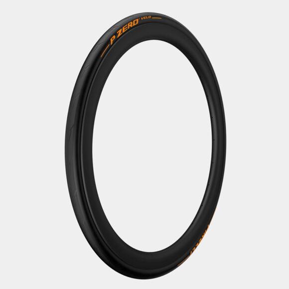Däck Pirelli P ZERO Velo Orange Edition Aramid Breaker SmartNET Silica 25-622 (700 x 25C / 28 x 1.00) vikbart