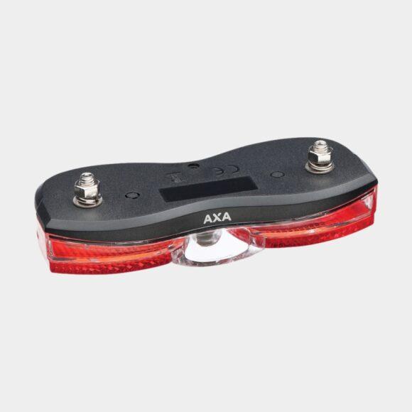 Baklampa AXA City, för pakethållare (50 mm och 80 mm)