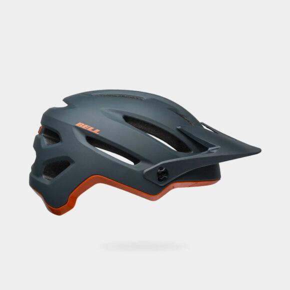 Cykelhjälm Bell 4Forty MIPS Matte/Gloss Slate/Orange, Large (58 - 62 cm)