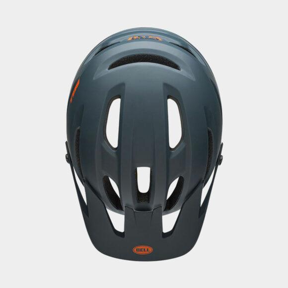 Cykelhjälm Bell 4Forty MIPS Matte/Gloss Slate/Orange, Medium (55 - 59 cm)