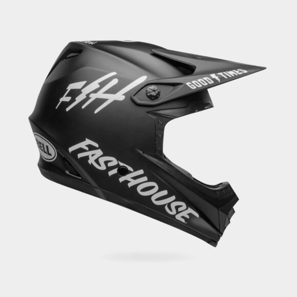 Cykelhjälm Bell Full-9 Fusion MIPS Fasthouse Matte Black/White, Small (53 - 55 cm)