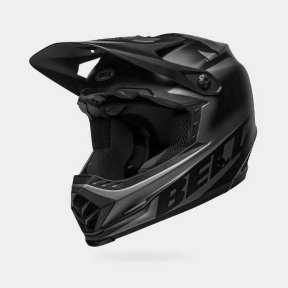 Cykelhjälm Bell Full-9 Fusion MIPS Matte/Gloss Black, Large (57 - 59 cm)