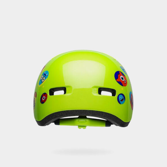 Cykelhjälm Bell Lil Ripper Green Monster, Universal Toddler (45 - 52 cm)