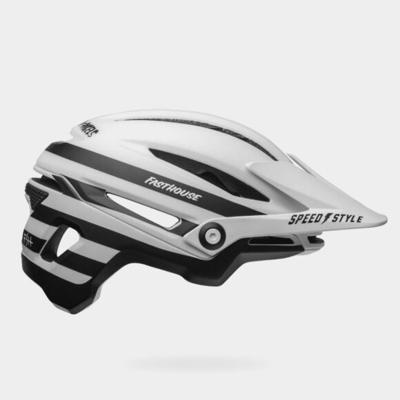 Cykelhjälm Bell Sixer MIPS Matte White/Black FastHouse, Large (58 - 62 cm)