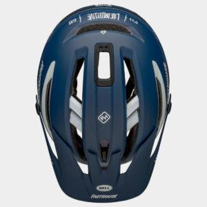 Cykelhjälm Bell Sixer MIPS Matte/Gloss Blue/White Fasthouse, Medium (55 - 59 cm)