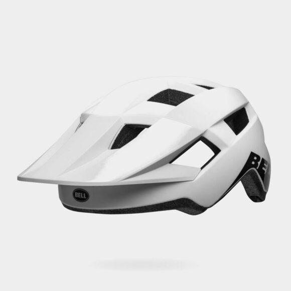 Cykelhjälm Bell Spark MIPS Gloss/Matte White Black, Universal Adult (53 - 60 cm)