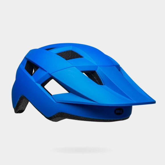 Cykelhjälm Bell Spark MIPS Matte/Gloss Blue/Black, Universal Adult (53 - 60 cm)