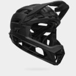 Cykelhjälm Bell Super Air R MIPS Matte/Gloss Black, Large (58 - 62 cm)