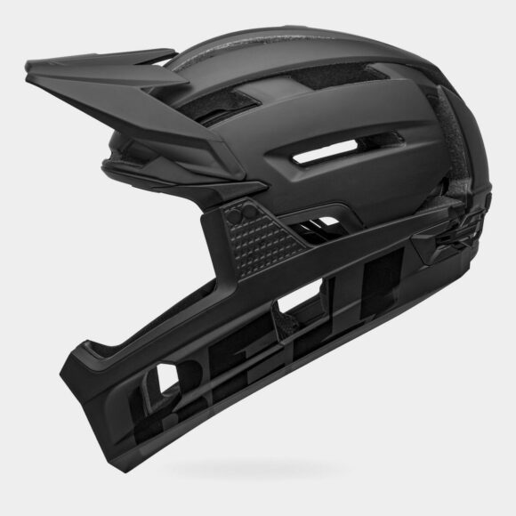 Cykelhjälm Bell Super Air R MIPS Matte/Gloss Black, Small (52 - 56 cm)