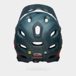 Cykelhjälm Bell Super DH Spherical MIPS Matte Blue/Crimson, Medium (55 - 59 cm)