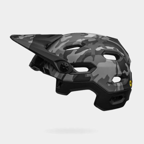 Cykelhjälm Bell Super DH Spherical MIPS Matte/Gloss Black Camo, Large (58 - 62 cm)