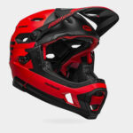 Cykelhjälm Bell Super DH Spherical MIPS Fasthouse Matte Red/Black, Large (58 - 62 cm)