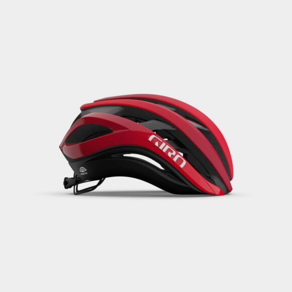 Cykelhjälm Giro Aether Spherical MIPS Matte Bright/Dark Red, Medium (55 - 59 cm)