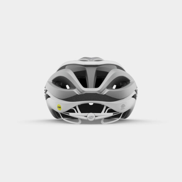 Cykelhjälm Giro Aether Spherical MIPS Matte White/Silver, Medium (55 - 59 cm)