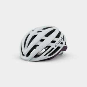 Cykelhjälm Giro Agilis MIPS W Matte White/Urchin, Small (51 - 55 cm)