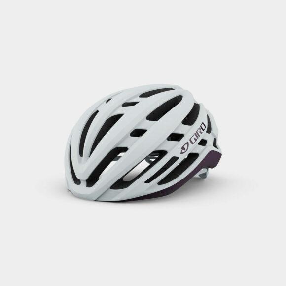 Cykelhjälm Giro Agilis MIPS W Matte White/Urchin, Medium (55 - 59 cm)