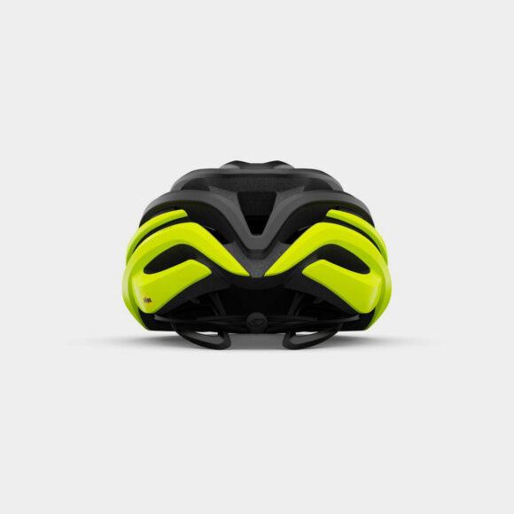 Cykelhjälm Giro Cinder MIPS Matte Black Fade/Highlight Yello, Large (59 - 63 cm)