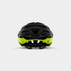 Cykelhjälm Giro Helios Spherical MIPS Matte Black/Highlight Yellow, Medium (55 - 59 cm)