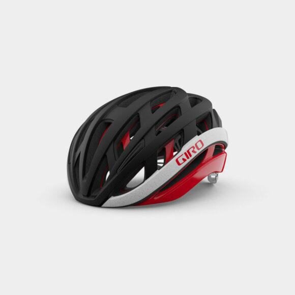 Cykelhjälm Giro Helios Spherical MIPS Matte Black/Red, Medium (55 - 59 cm)