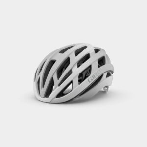 Cykelhjälm Giro Helios Spherical MIPS Matte White/Silver Fade, Large (59 - 63 cm)