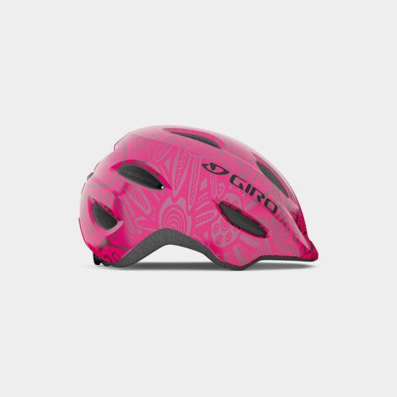 Cykelhjälm Giro Scamp MIPS Bright Pink Pearl, Small (49 - 53 cm)