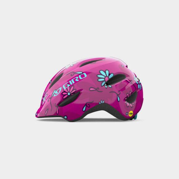 Cykelhjälm Giro Scamp MIPS Pink Street Sugar Daisies, X-Small (45 - 49 cm)