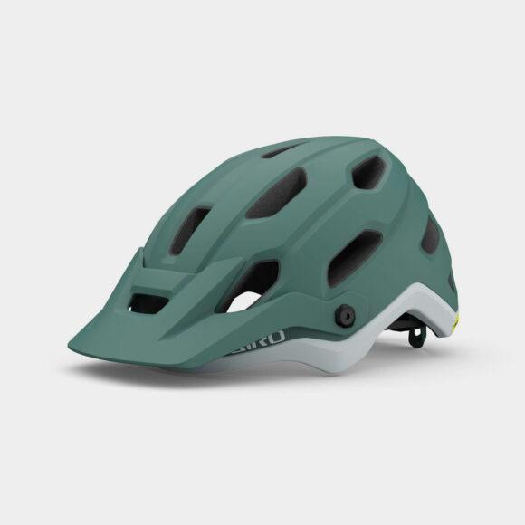Cykelhjälm Giro Source MIPS W Matte Grey/Green, Small (51 - 55 cm)