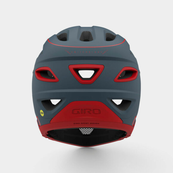 Cykelhjälm Giro Switchblade MIPS Matte Portaro Grey/Red, Small (51 - 55 cm)