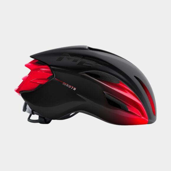 Cykelhjälm MET Manta MIPS Black Red/Matt Glossy, Large (58 - 61 cm)