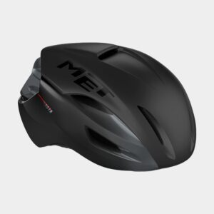 Cykelhjälm MET Manta MIPS Black/Matt Glossy, Medium (56 - 58 cm)