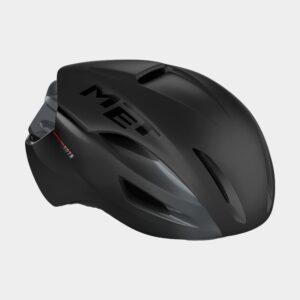 Cykelhjälm MET Manta MIPS Black/Matt Glossy, Small (52 - 56 cm)