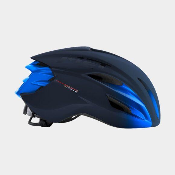 Cykelhjälm MET Manta MIPS Blue Metallic/Matt Glossy, Medium (56 - 58 cm)