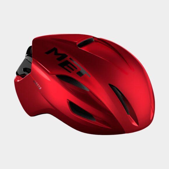 Cykelhjälm MET Manta MIPS Red Metallic/Glossy, Medium (56 - 58 cm)