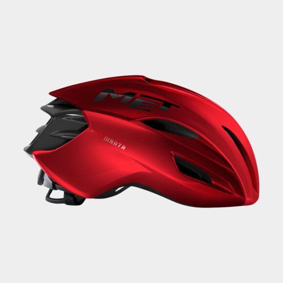Cykelhjälm MET Manta MIPS Red Metallic/Glossy, Small (52 - 56 cm)