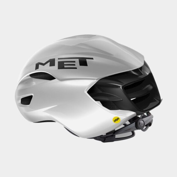 Cykelhjälm MET Manta MIPS White Holographic/Glossy, Large (58 - 61 cm)