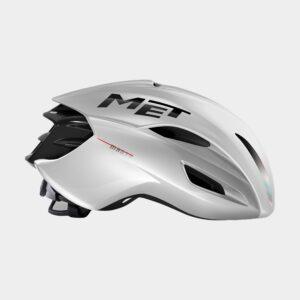 Cykelhjälm MET Manta MIPS White Holographic/Glossy, Medium (56 - 58 cm)