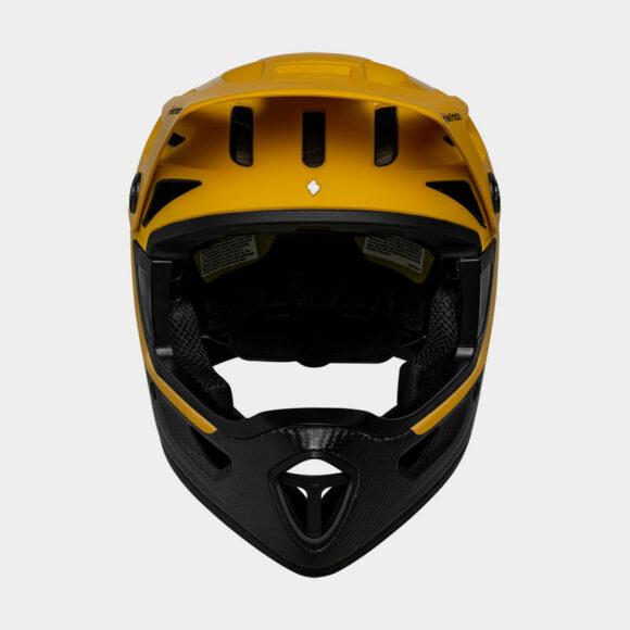 Cykelhjälm Sweet Protection Arbitrator MIPS Chopper Orange/Natural Carbon, Small/Medium (53 - 56 cm)