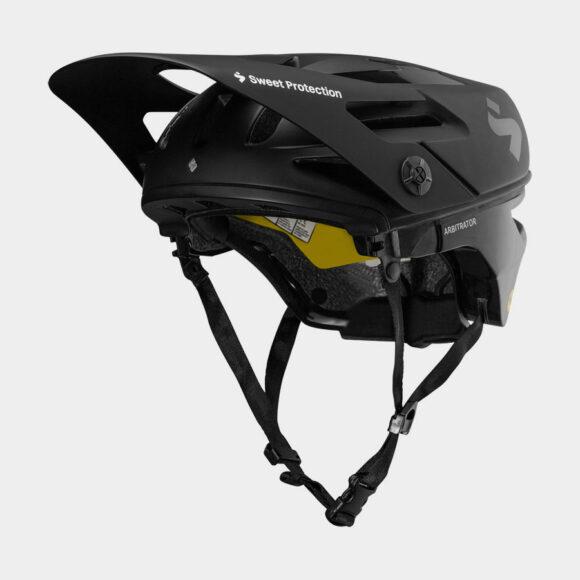 Cykelhjälm Sweet Protection Arbitrator MIPS Matte Black/Natural Carbon, Medium/Large (56 - 59 cm)